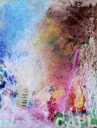 Rubato, acryl sur papier de Bona Mangangu.jpg