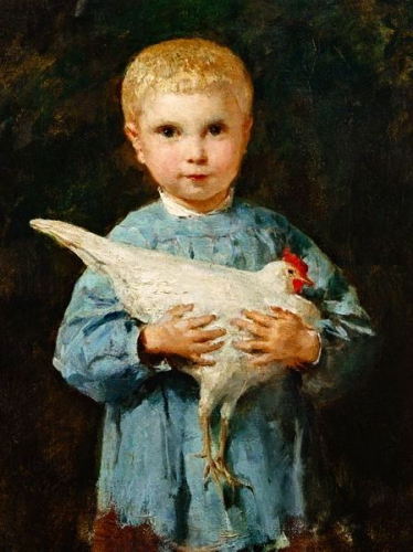 peinture-anker-maurice-anker-avec-une-poule-tableaux-galerie-arts-decoration-bretagne-auray-golfe-morbihan-attention-a-la-peinture-jean-jacques-rio.jpg
