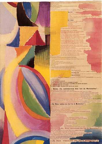 La prose du Transsibérien - B.Cendras / S.Delaunay